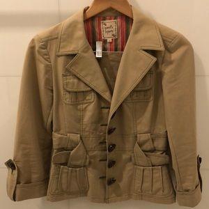 Nanette Lapore khaki blazer